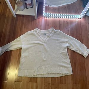 Arie American Eagle over sized sweater